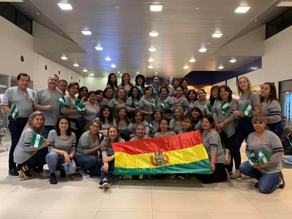 Delegación Boliviana - Congreso COLABIOCLI