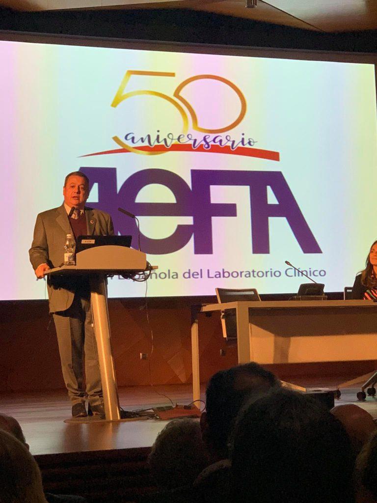 Dr. Álvaro Justiniano Grosz - 50 años de aniversario AEFA