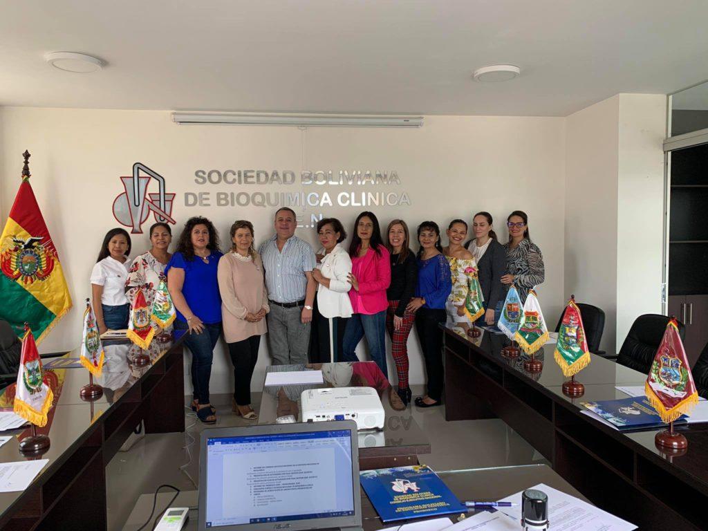 Reunión Comite Ejecutivo en Cochabamba