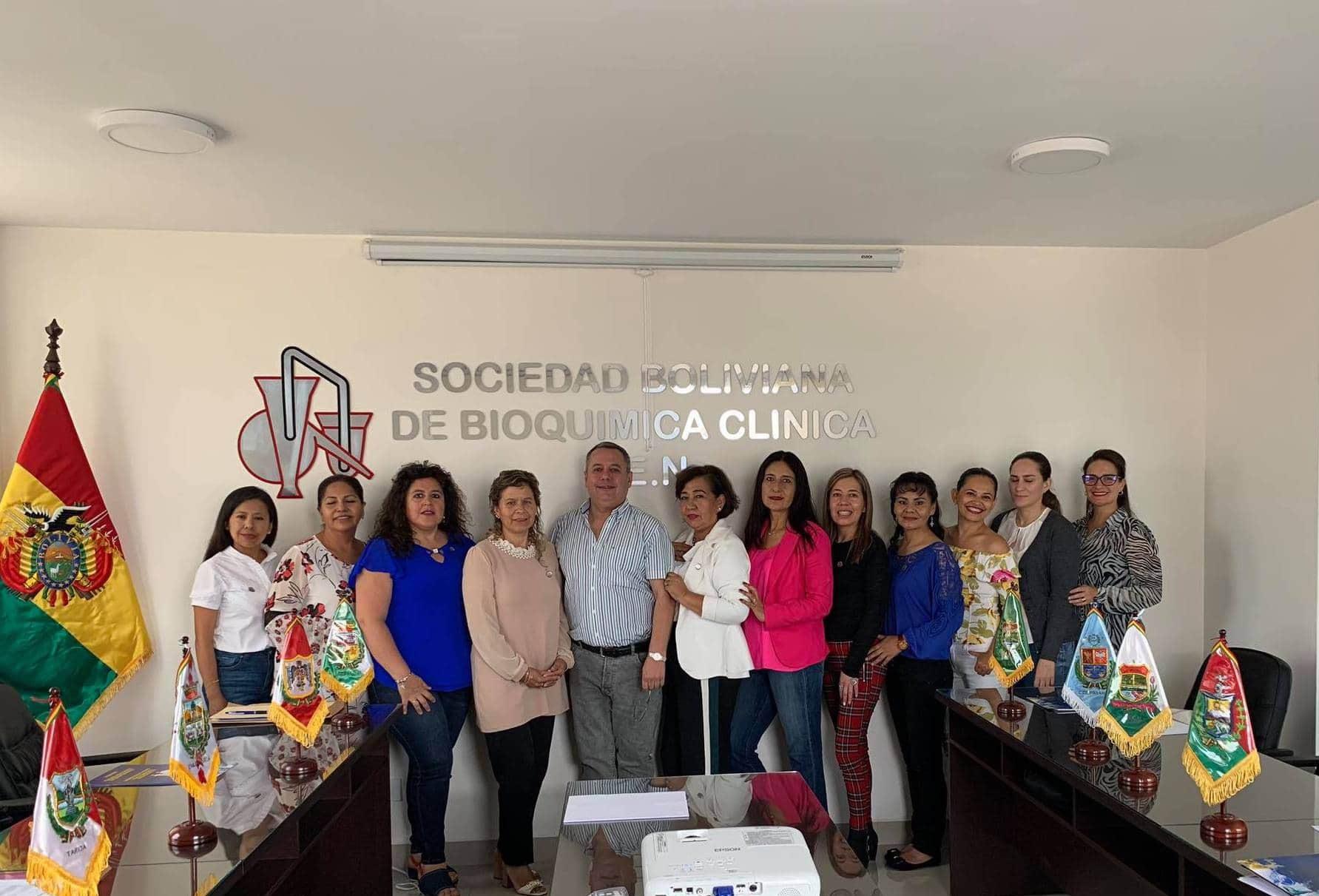 Reunión Sociedad Boliviana de Bioquímica Clínica