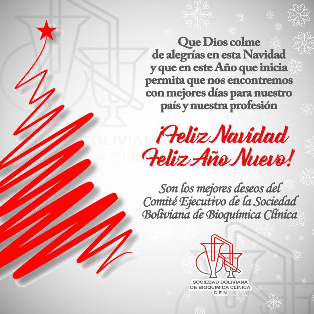mensaje de navidad sobobiocli